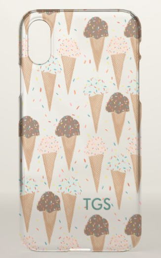 icecream clear case Z