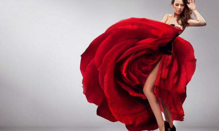 Rosalie-trandafirul rosu