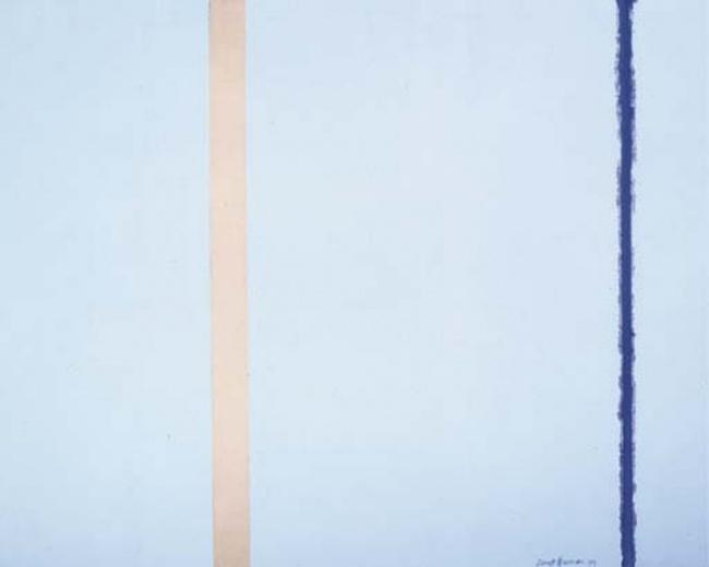 Focul alb I, Barett Newman - $3 800 000