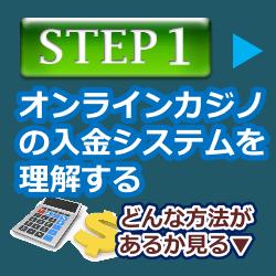 オンラインカジノの入金ステップ1-オンカジの入金システムを理解する