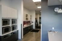 большая кухня на втором этаже