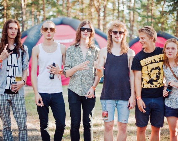 Wildborn band in Rock Nights Roko Naktys festival