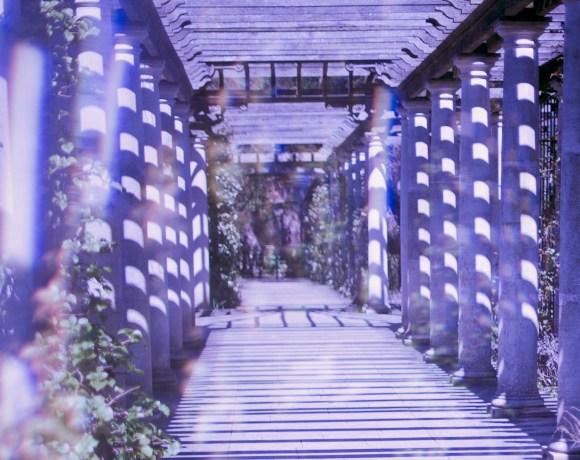 dreamy magical pergola gardens landscape