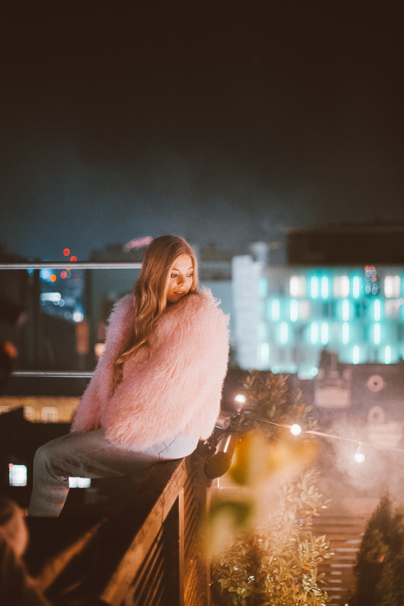 Becky Hill shot by Ailera Stone, still from music video for Warm
