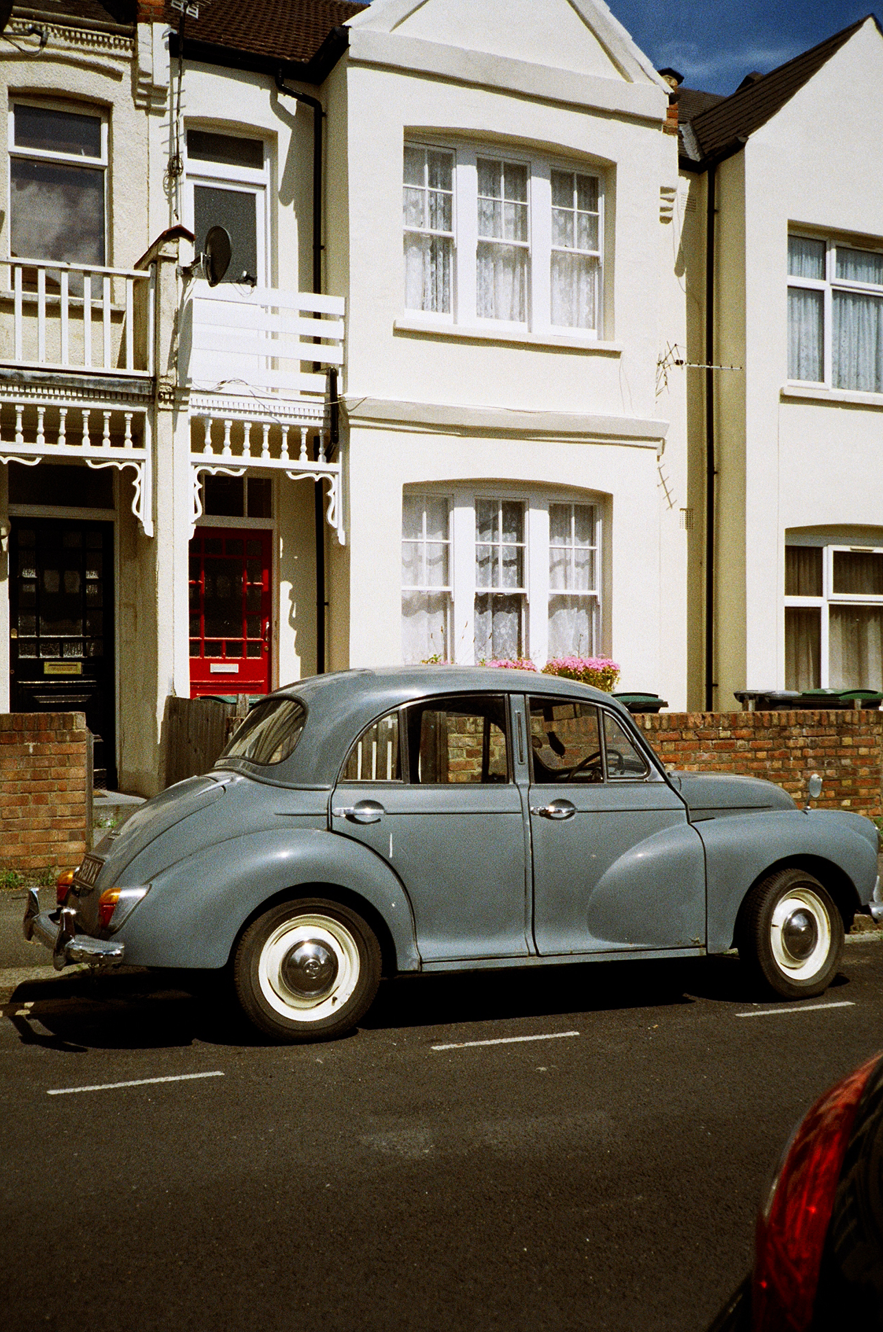 London street beetle car 35mm film diary by Ailera Stone