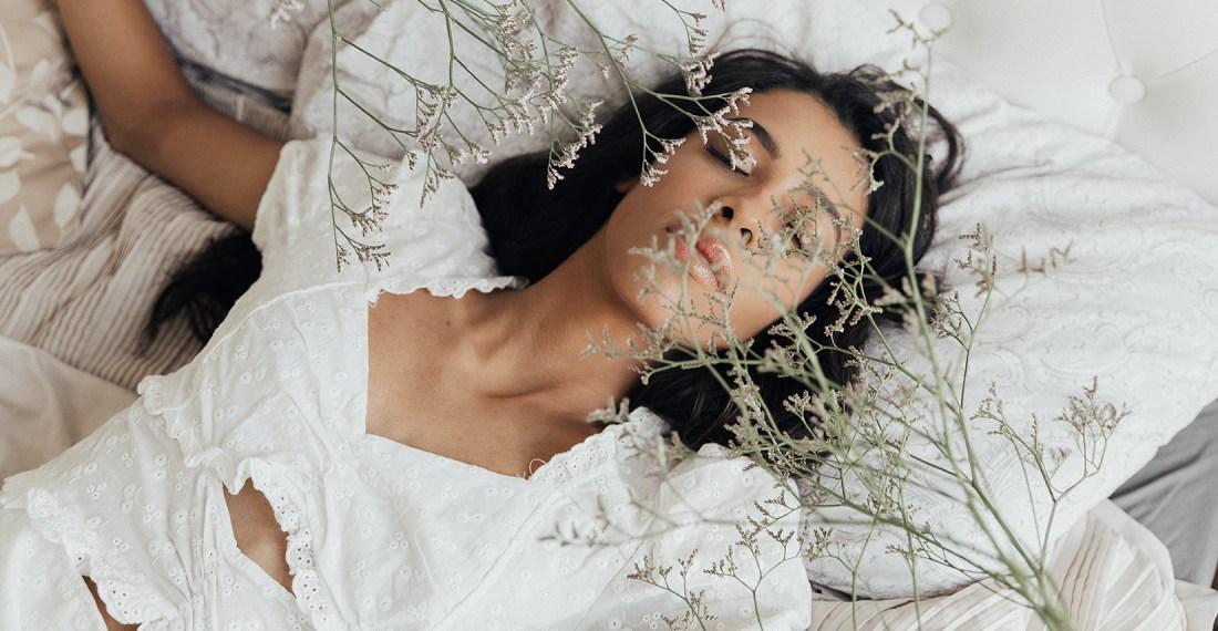 Soft dreamy model test shoot with Beatriz @ PRM agency by Ailera Stone