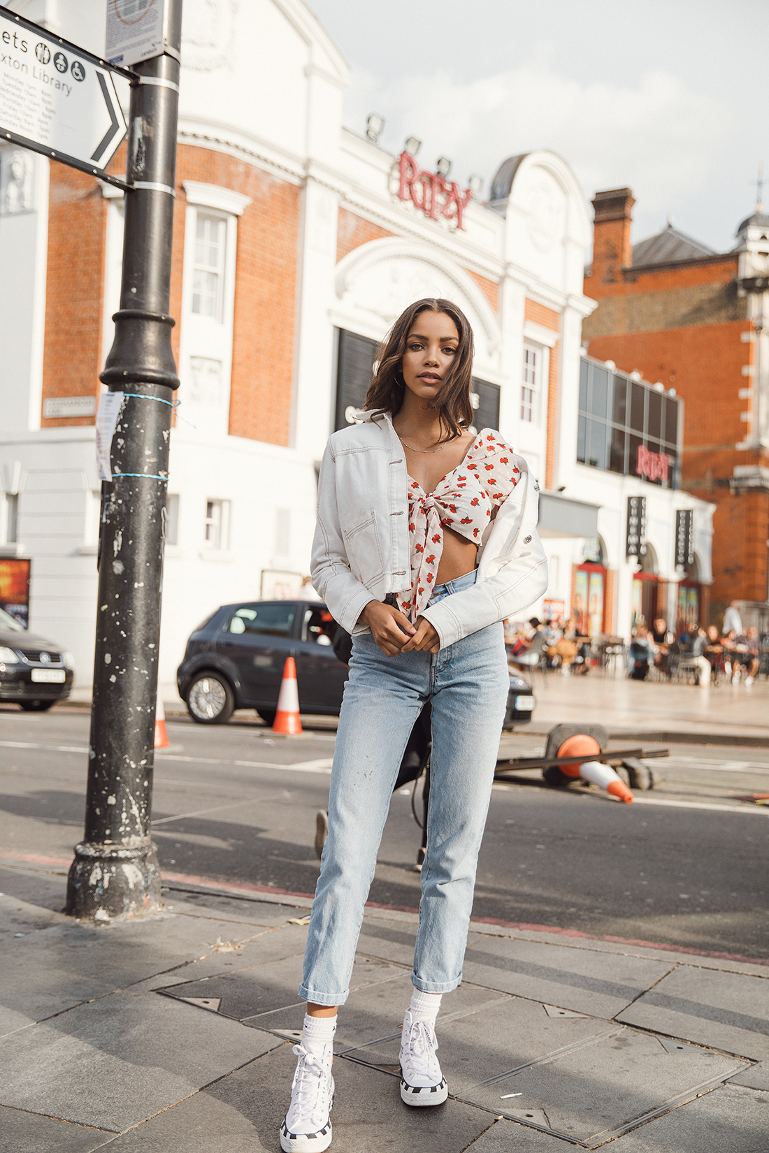 Melody @ The Squad fashion shoot in Brixton by London photographer Ailera Stone