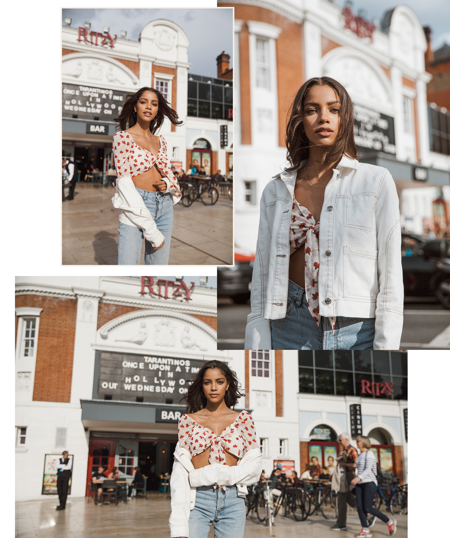 Melody @ The Squad fashion shoot in Brixton Ritzy cinema by London photographer Ailera Stone