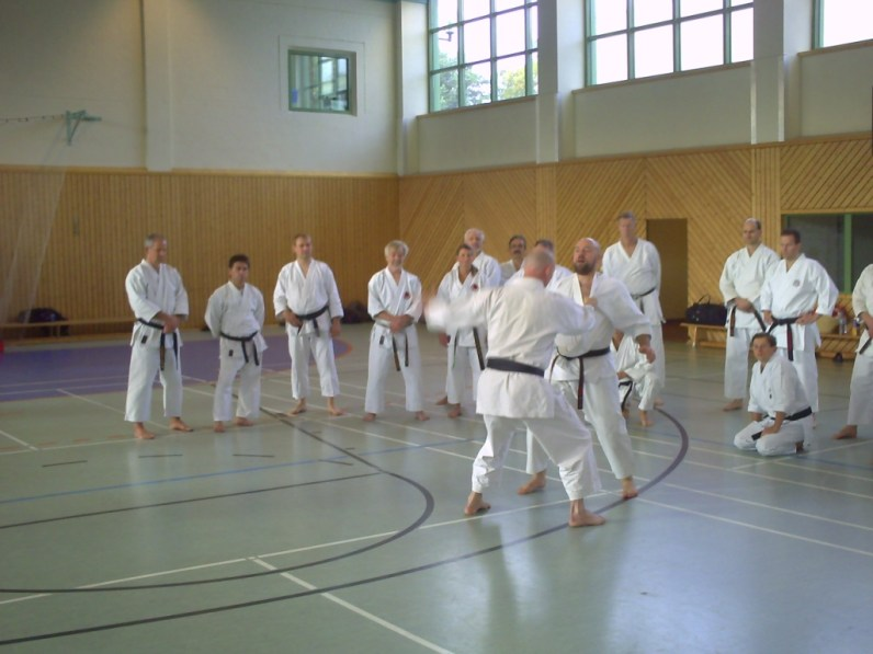 Training mit Ian Abernethy 2009