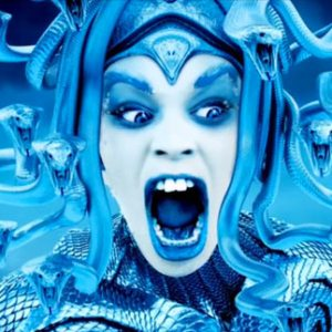 Azealia Banks as Medusa from her hit single Ice Princess