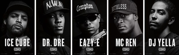straight outta compton-character-posters