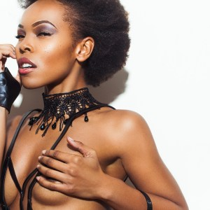 Dyesha Hicks Cover Model