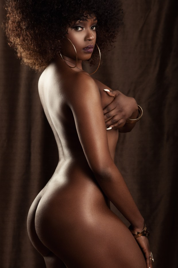 Miss Ksyn Black History Month Cover Nude