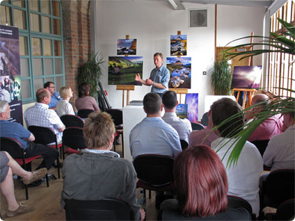 Joe Cornish - SUN seminar at the Biscuit Factory Newcastle