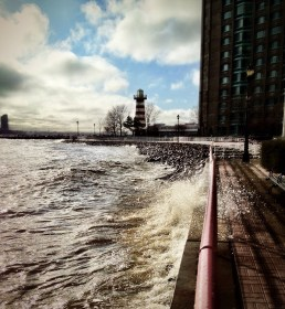 A windy day along the Hudson #iphoneography #photography #hudson