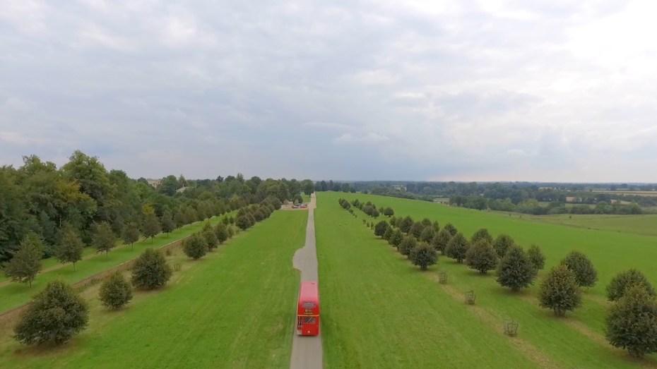 Bus-Aerial (Drone) clip