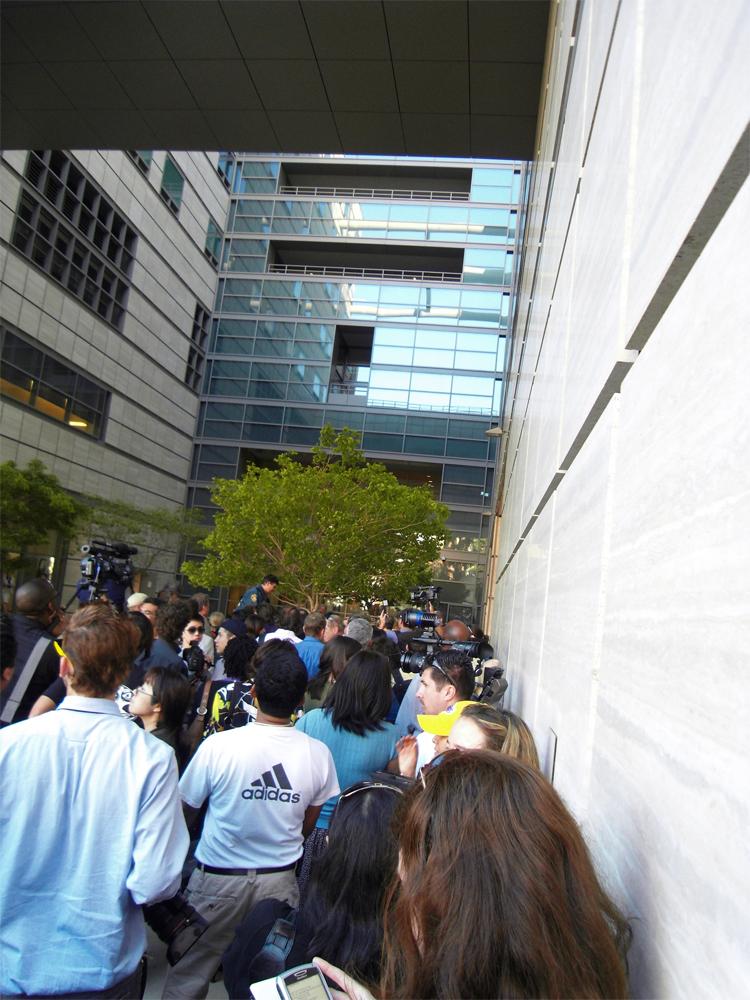 Crowd at UCLA