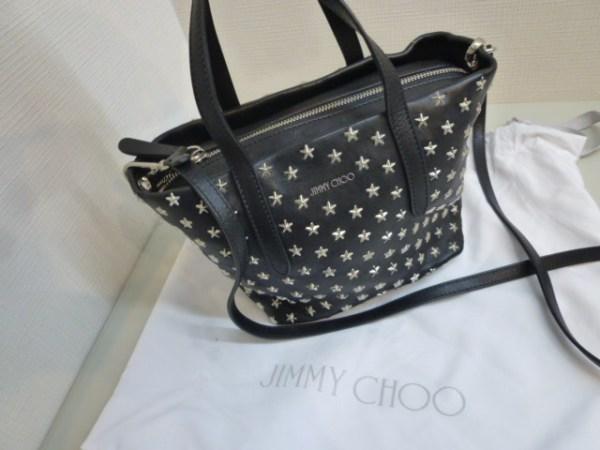 JIMMY CHOO ブランドバッグお買取りさせて頂きました!! 笑福筑後店です。