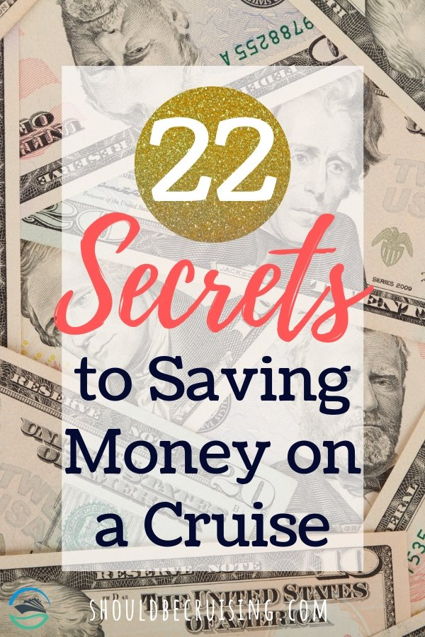If you're planning on taking a cruise, you're probably wondering how to save money on your cruise vacation without sacrificing any of the fun and relaxation that you're looking forward to. We share 22 money-saving tips and tricks that will help you stick to your budget. #cruise #cruisetips #savemoneycruise #cruisetravel #budgetcruise