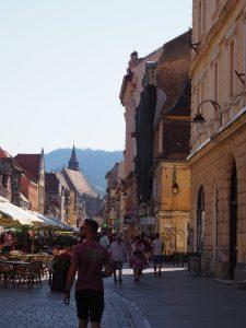 Brasov main street