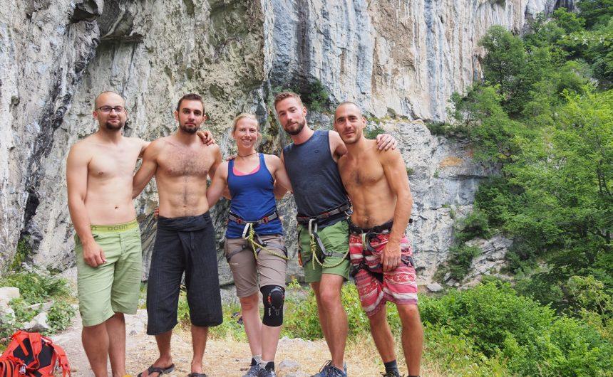romanian climbers