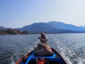 Lake bafa fisherman