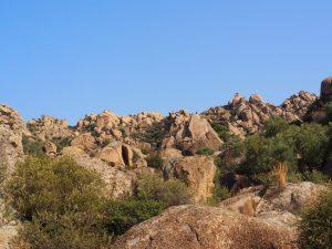 lake bafa boulders