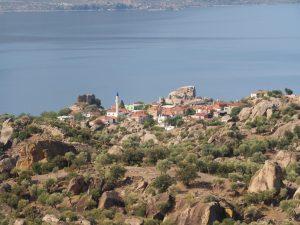 Kapikiri as seen from Besparmak slope
