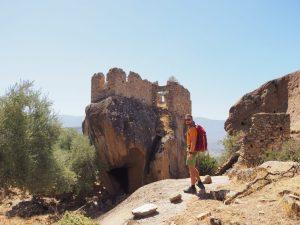 Yediler monastery lake bafa