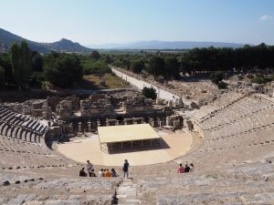 Great theatre in Ephesus