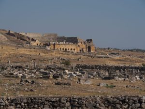 Great theatre in Hierapolis