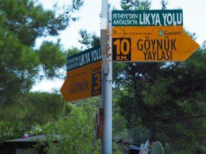 Lycian road