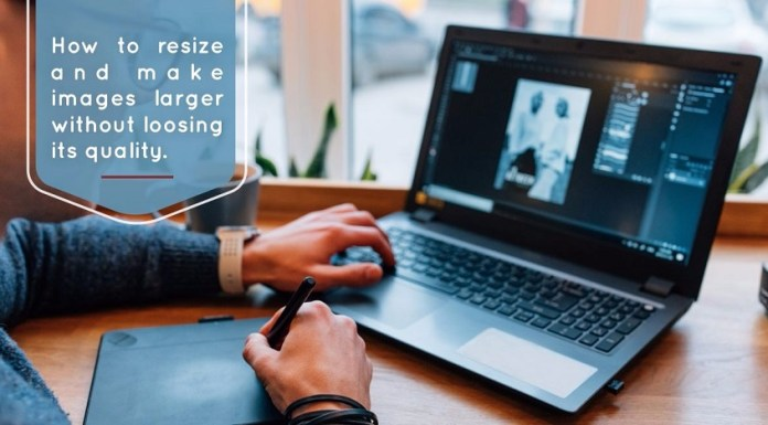 Resize Images without Losing its Quality