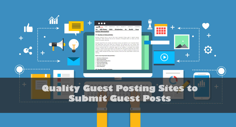 Top 200+ Quality Guest Posting Sites To Submit Guest Posts [2019