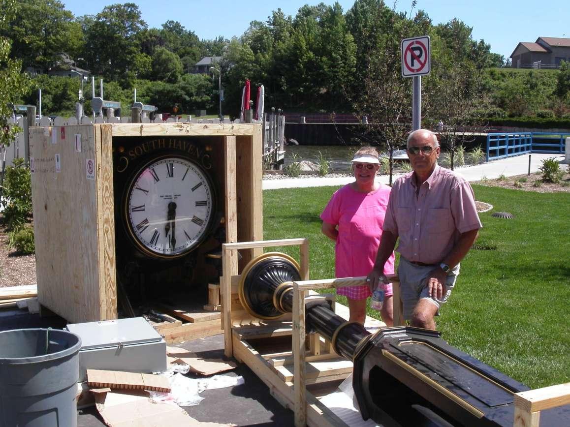 Installing the Harbor Clock
