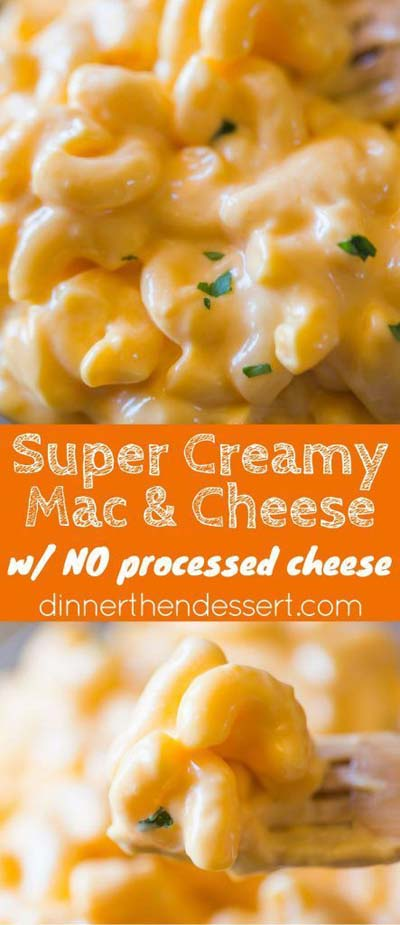 Mac and Cheese Recipes: SUPER CREAMY MACARONI AND CHEESE