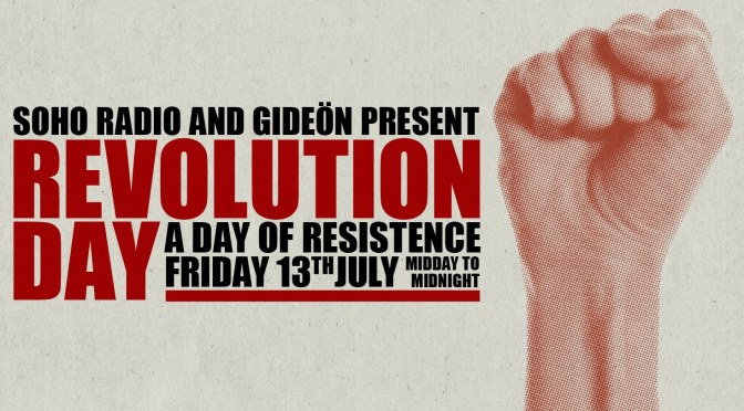 12 hour protest party in response to Trump UK visit