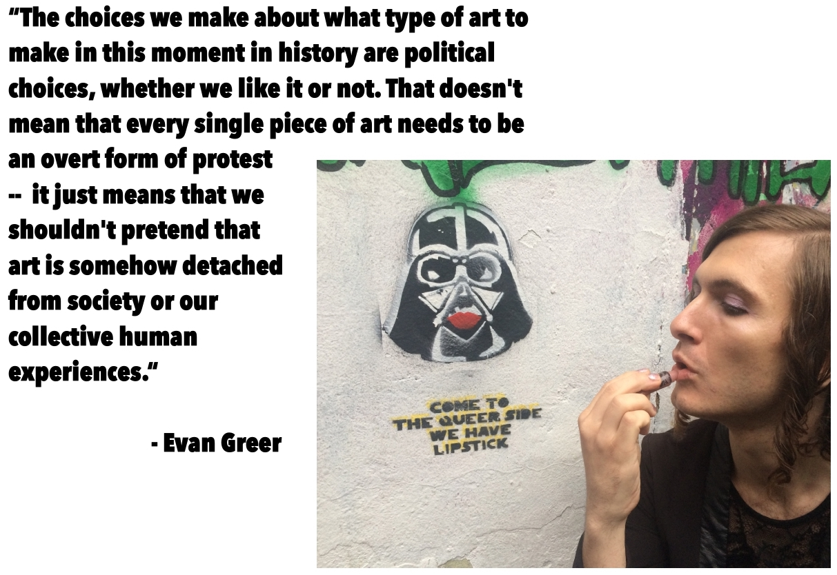 A Protest Music Interview: Evan Greer