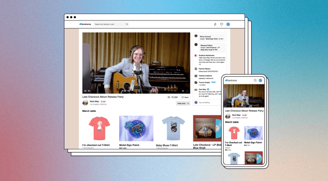 Bandcamp Creates A New Ticketed Live Stream Service To Further Support Artists