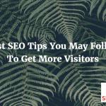 SEO Blogger Tricks To Get Good Number Of  Site Visitors