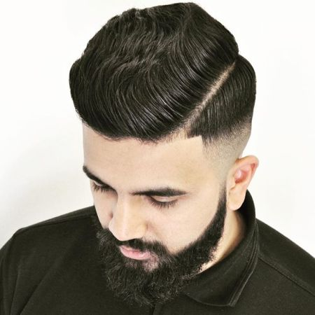 justmikethatsme-Thick-wavy-hair-men-combover-side-part-edge-up