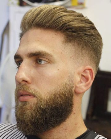 ppreshaw-beard-trim-with-slick-hair-mid-fade