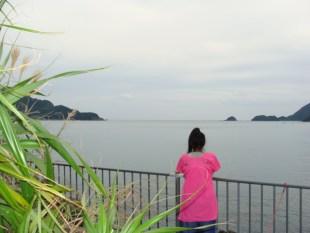 奄美大島のゲストハウス「昭和荘」からレンタルバイクで約5分 阿木名海岸