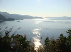 奄美南部・古仁屋から見る大島海峡