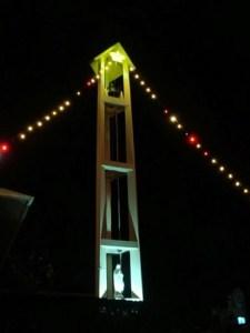 古仁屋の町を灯すイルミネーション