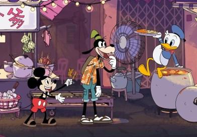 Mickey Mouse Bakar Satay Dan Donald Duck Buat Roti Canai