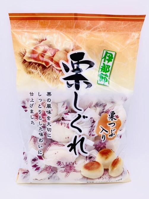 栗しぐれ。懐かしいお菓子。 外松。とまつ。japanese-nostalgia-snacks-tomatsu-chestnut-shigure