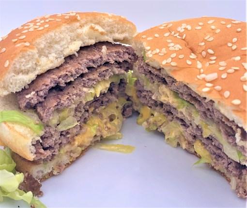 マクドナルド 倍ビッグマック 夜マック 断面 japanese-mcdonalds-diner-double-big-mac