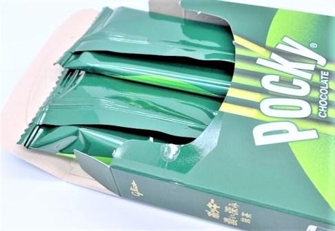 江崎グリコ ポッキー 濃い深み抹茶 期間限定 2020 japanese-snacks-glico-pocky-fukami-matcha-green-tea-chocolate-2020-limited-edition
