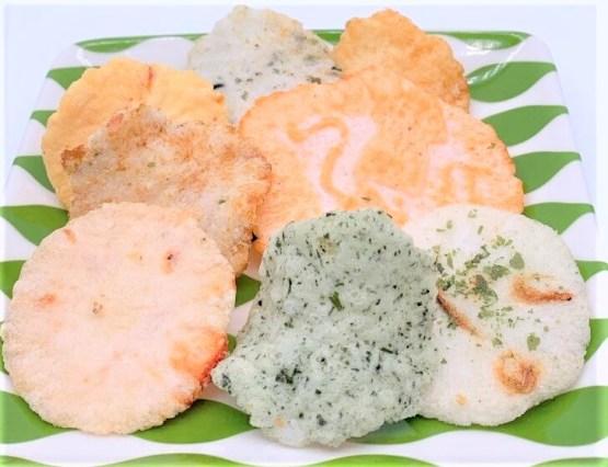 くらし良好 生活良好 八種の海鮮せんべいミックス お菓子 2020 japanese-snacks-kurashiryoukou-8syuno-kaisen-senbei-mix-seafood-flavored-rice-cracker-variety-pack-2020